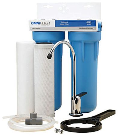 Omni Filters Ot32 Under Sink Drinking Water Filters