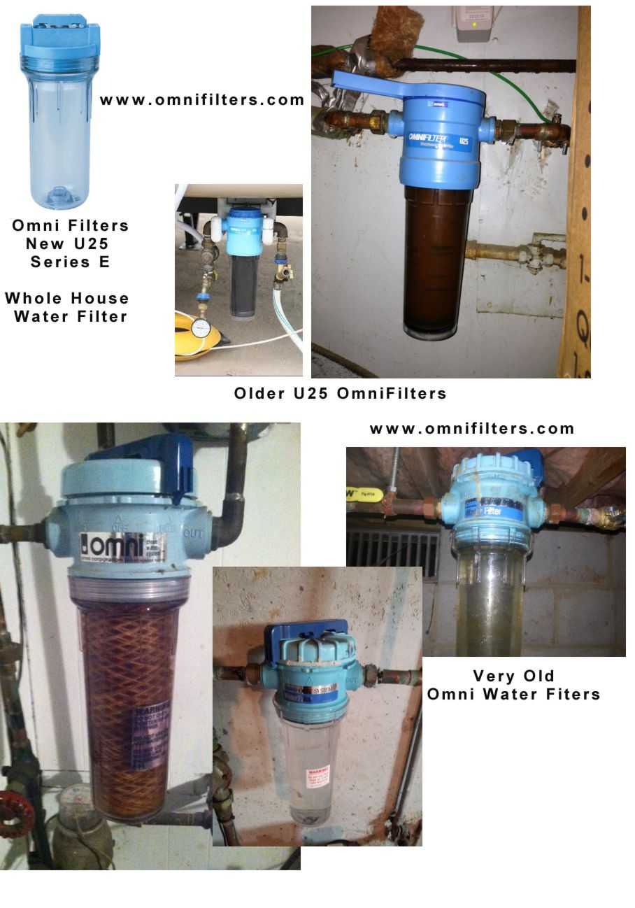 Identify Old U25 Omni Filter Whole House Water Filters