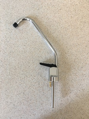 K12 Faucet Curved Chrome - No Hardware